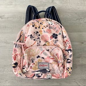 Cath Kidston pink and navy backpack
